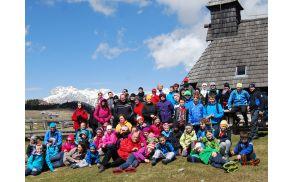 Druženje treh generacij na Veliki planini