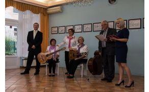 Otvoritev razstave v dvorani gostišča Turist