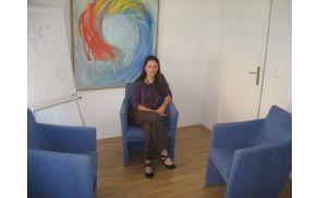 Vesna Mirt Čampa sodeluje tudi z Družinskim inštitutom Zaupanje v Sevnici, kjer oblikujejo terapevtsko skupino za osebe, ki so razvile motnje hranjenja (foto: Anica Ganc).