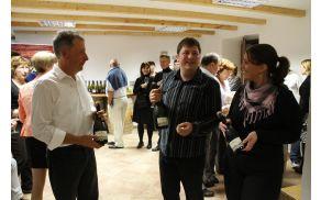Predstavitev vin s kmetije Tomažič