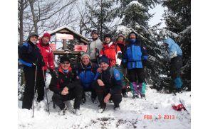 Ramšakov vrh v snegu