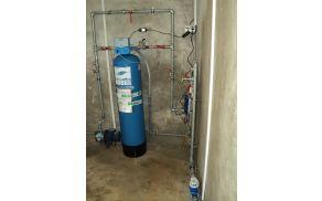 Vodovod Kurja vas – priprava vode