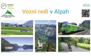 Vozni redi v Alpah 2016