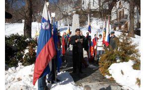Slavnostni govornik Mitja Bervar.