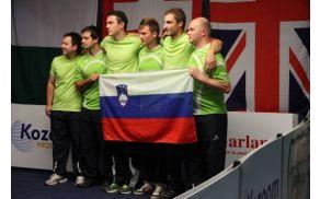 Slika 1: Slovenska reprezentanca na WCS v Avstriji: od leve: Matevž Jeras, Jože Kremzer, David Potrbin, Roman Klopčič, Rok Slapnik, Boštjan Toman