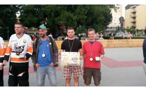 Trojec Yetijev, ki je dosegel 3. mesto na Inline hokej turnirju v Velenju.