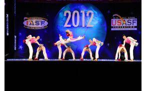 Članska plesna skupina na svetovnem