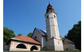 Romarska cerkev Marijinega imena na Žežlju
