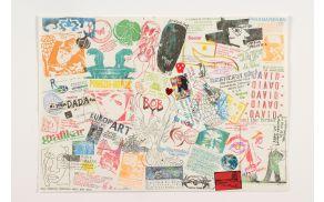 Na že dvajseti razstavi vizualne poezije in umetniških knjig razstavlja več kot sto umetnikov in skupin iz enaindvajsetih držav. Foto: Arhiv MGML.