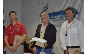 Z leve: Boris Žorž ALC, Boštjan Pristavec ALC in Avgust Potušek KAS