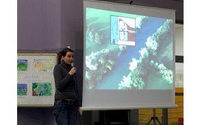 Maša Bratina je borovniški publiki predstavila znamke, povezane z Ljubljanskim barjem, in njihove zgodbe.