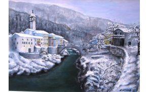 Zorana Berdon, Kanal pozimi (olje na platno).