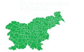 Slovenija je razdeljena kar na 210 občin. Vir: SURS