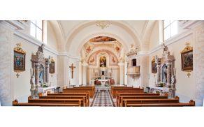 Notranjost cerkve sv. Marjete v Borovnici