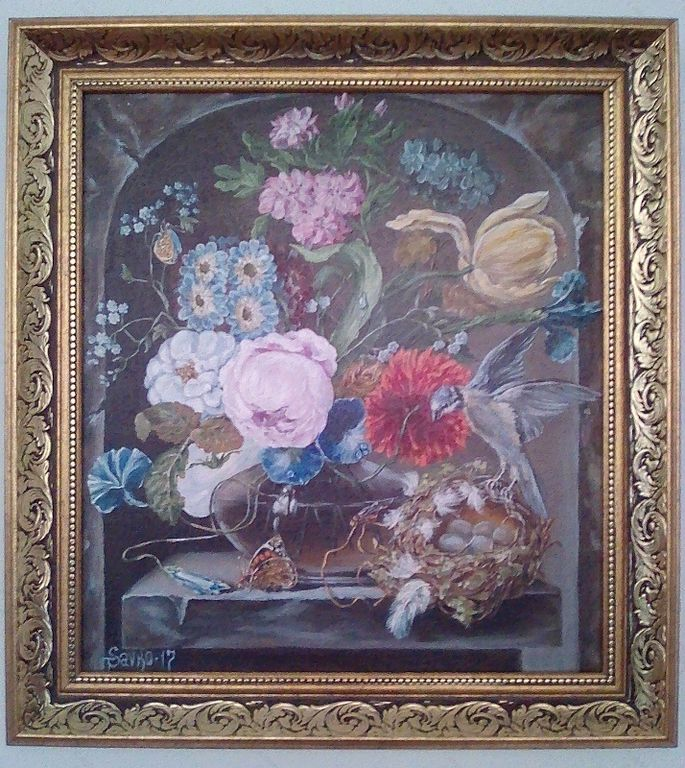 Umetniška razstava Tetyane Donets Savko