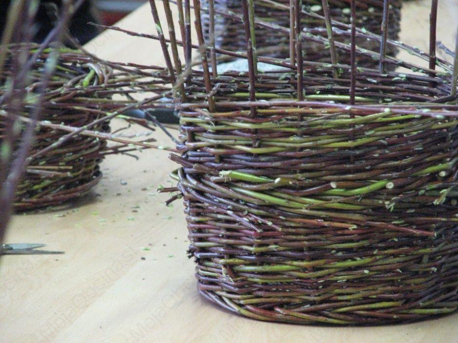 Tečaj pletenja košar iz vrbovega šibja