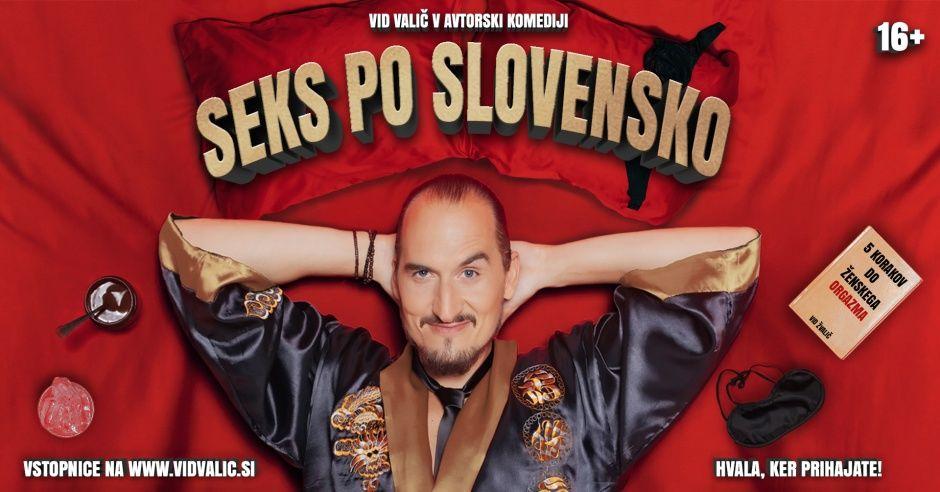 Avtorska komedija Seks po slovensko