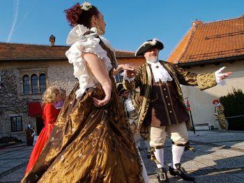 Ples z graščakom