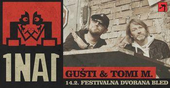 Akustični koncert 1na1: Gušti & Tomi M.