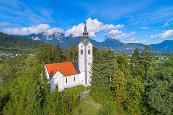 Sprehodi Muzejskega društva Bled: cerkev Sv. Andreja