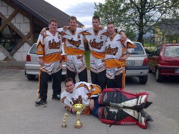 Hokej na rolerjih v Tupaličah