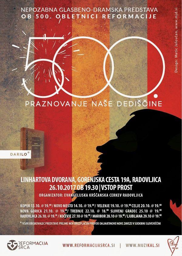 Glasbeno-dramska predstava on praznovanju 500. obletnice reformacije