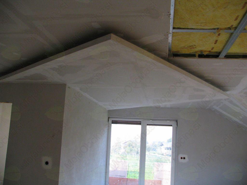 dvodelni strop