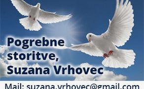 POGREBNE STORITVE, SUZANA VRHOVEC S.P.