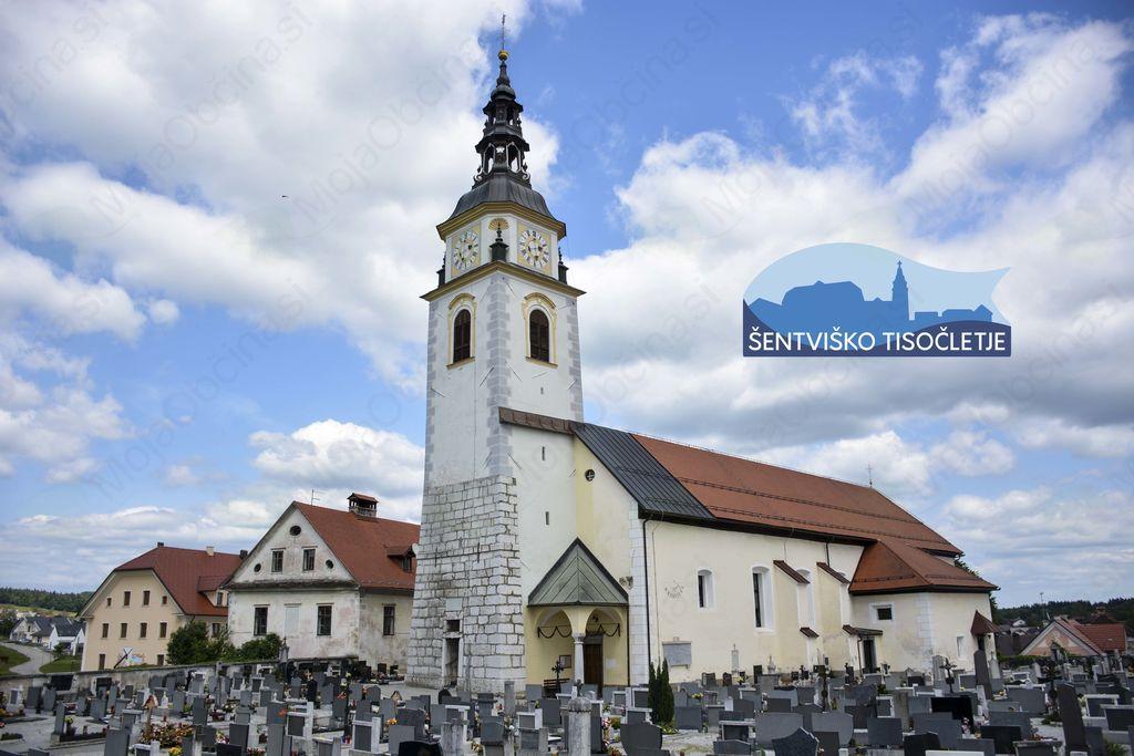 V Šentvidu pri Stični praznujejo 1000-letnico župnije