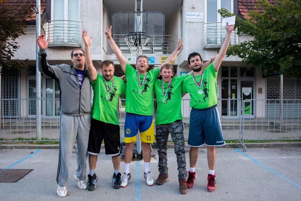 12. županov turnir v ulični košarki množično obiskan