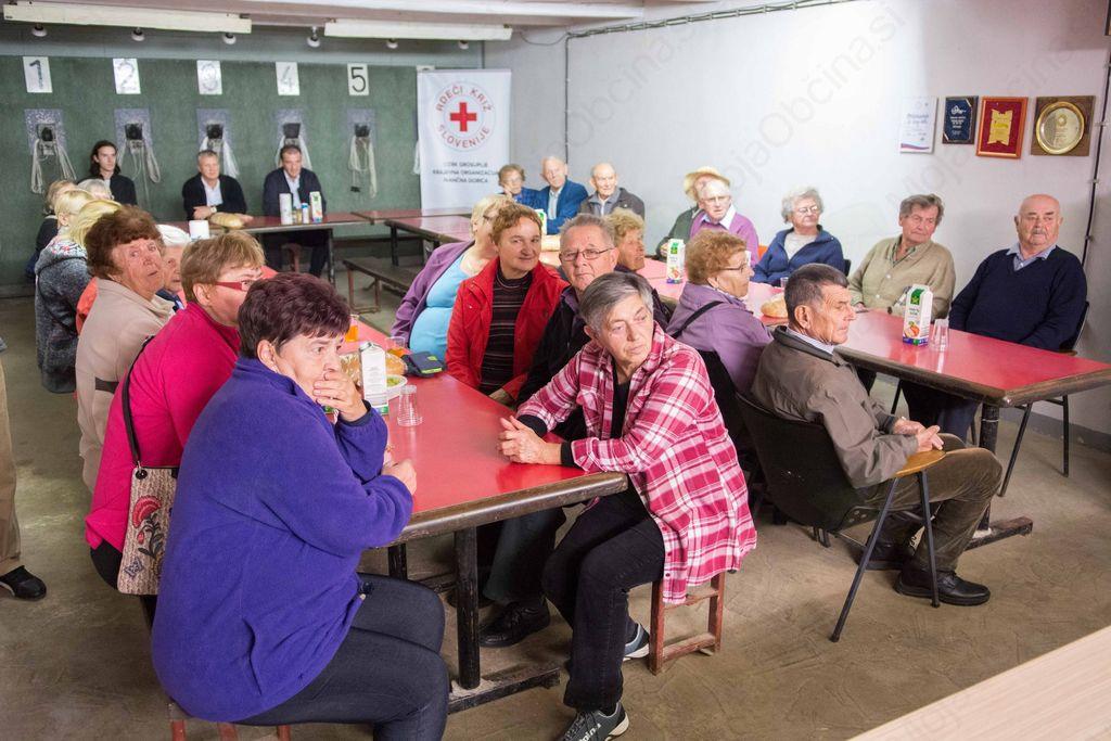 Srečanje Krajevne organizacije Rdečega križa Ivančna Gorica