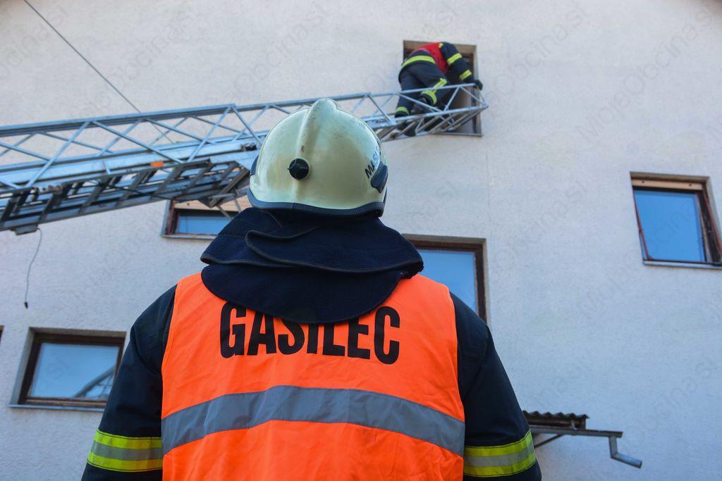Gasilska vaja v kulturnem domu Ivančna Gorica