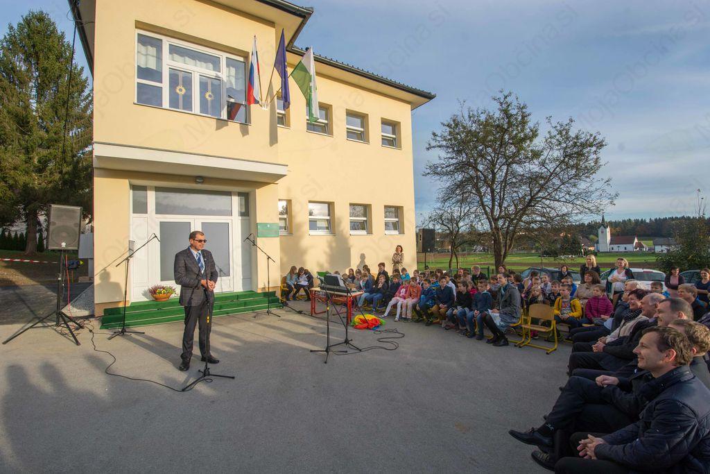 Popolna stilska preobrazba Podružnične šole Muljava