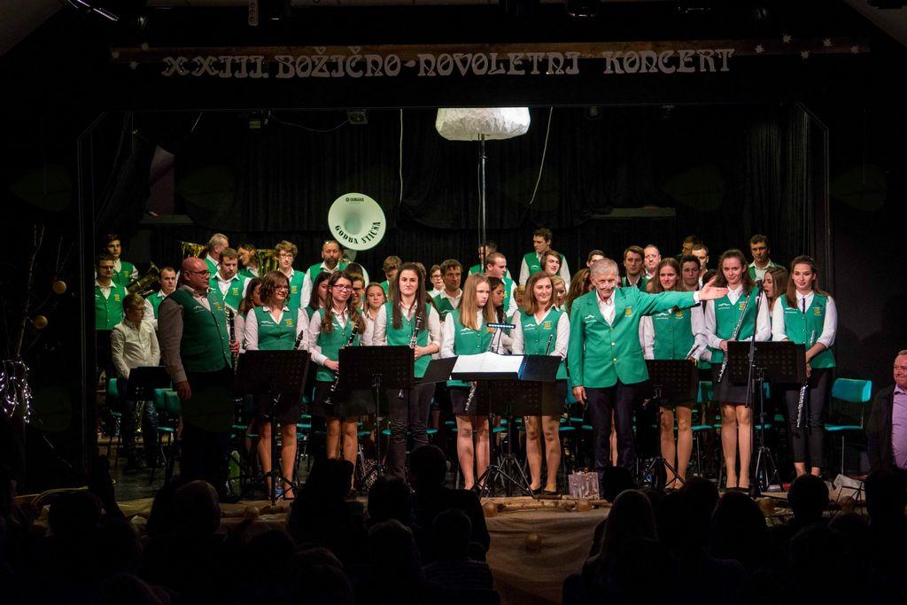 XXIII. božično – novoletni koncert Godbe Stična