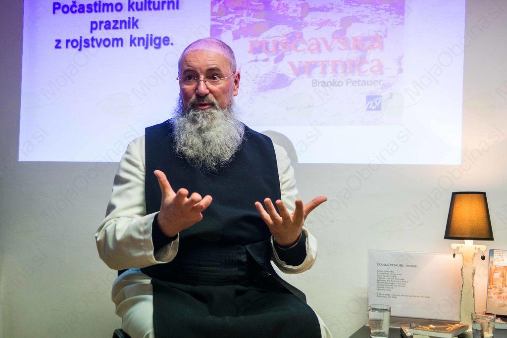 Predstavitev knjige in otvoritev razstave patra Branka Petauerja