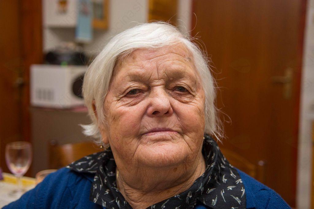 Devetdesetega rojstnega dne se je razveselila Jožefa Rogelj iz Debeč