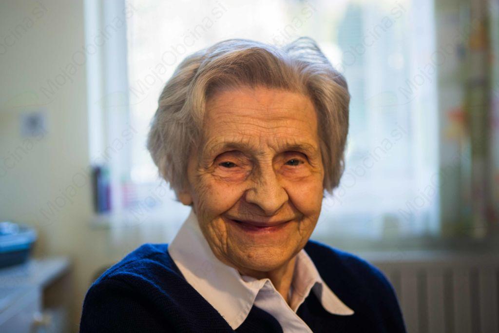 Devetdeset let Marije Lavrič iz Stične