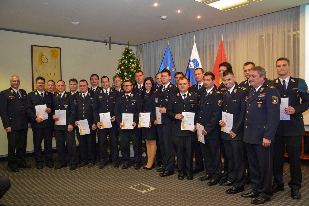 Slavnostna podelitev listin Gasilske zveze Slovenije