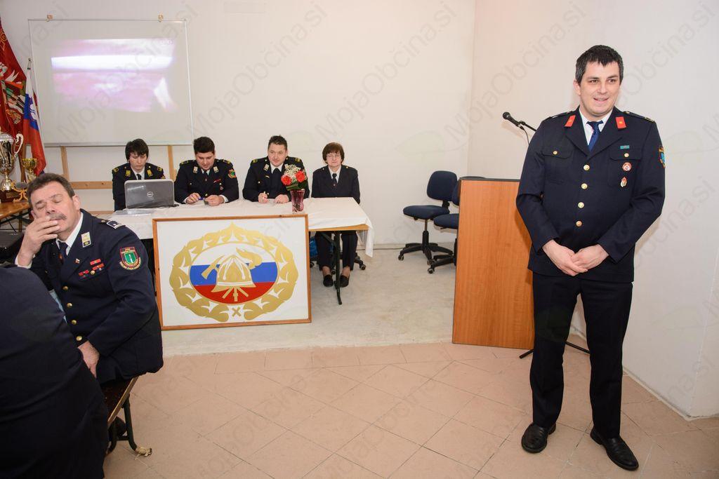 Občni zbor Prostovoljnega gasilskega društva Ivančna Gorica