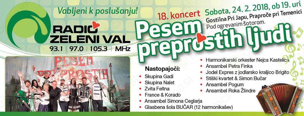 Napovednik dogodkov v Ivančni Gorici od 23. do 25. februarja 2018