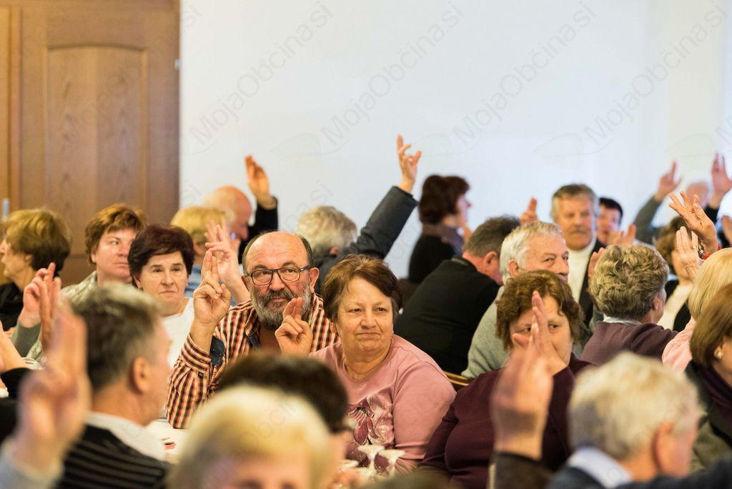 Jubilejni 20. občni zbor Društva upokojencev Stična