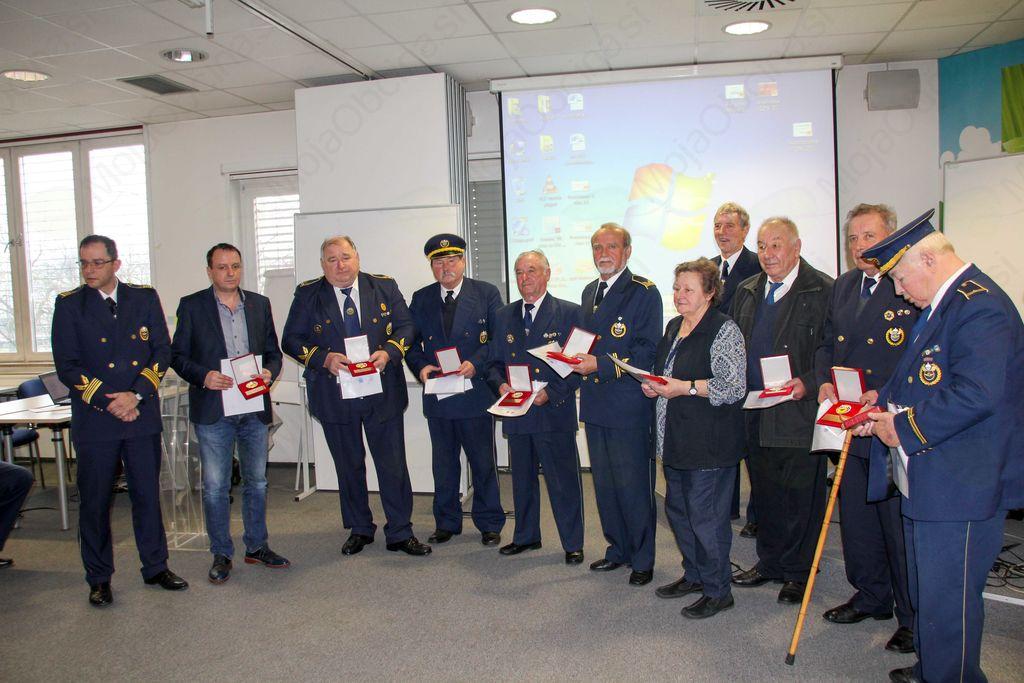 Ciril Zajec in Franc Bivic prejemnika posebnega priznanja Zveze ZŠAM Slovenije