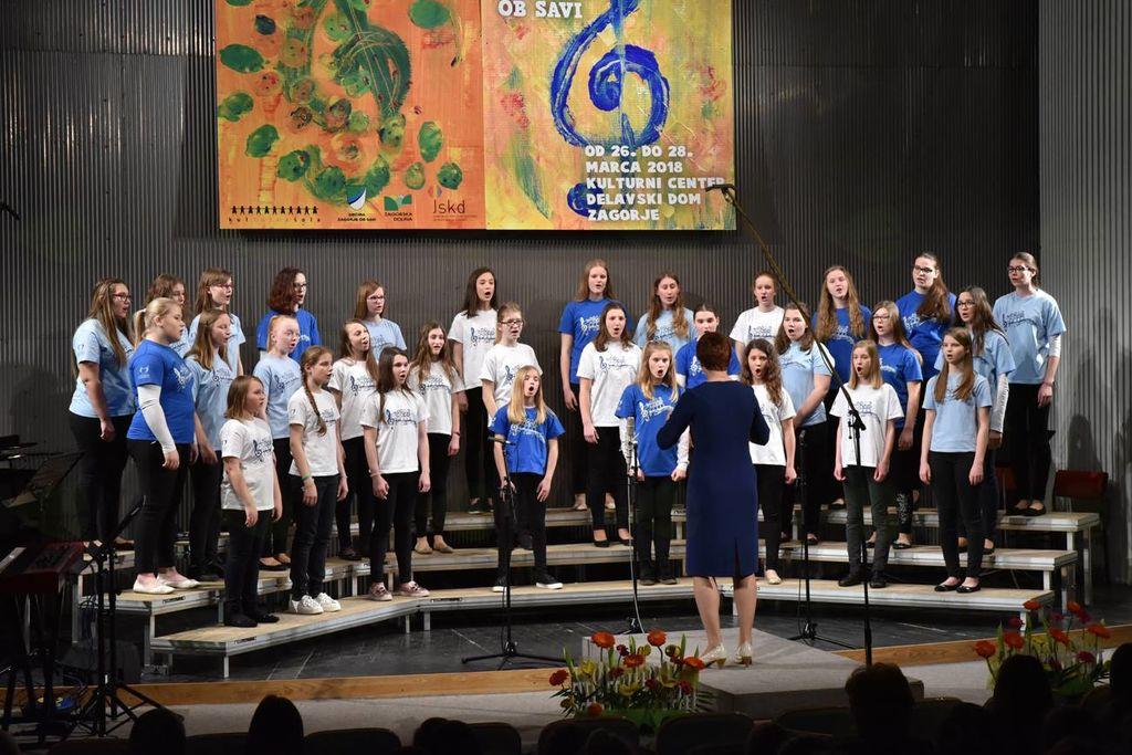 MPZ OŠ Ferda Vesela Šentvid pri Stični, najboljši mladinski zbor 26. Revije (ex-aequo)