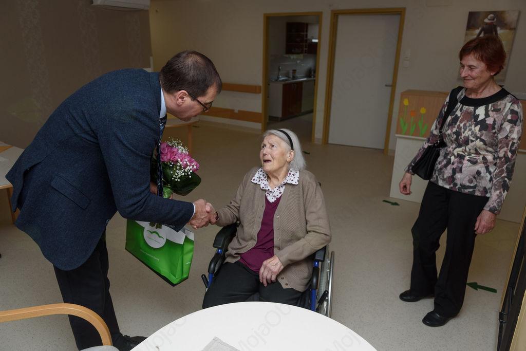 90 let Ane Verbič iz Hrastovega Dola