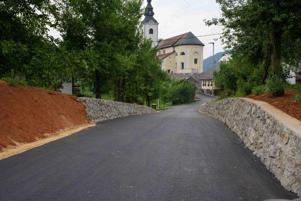 Po občini se izvajajo številne investicije