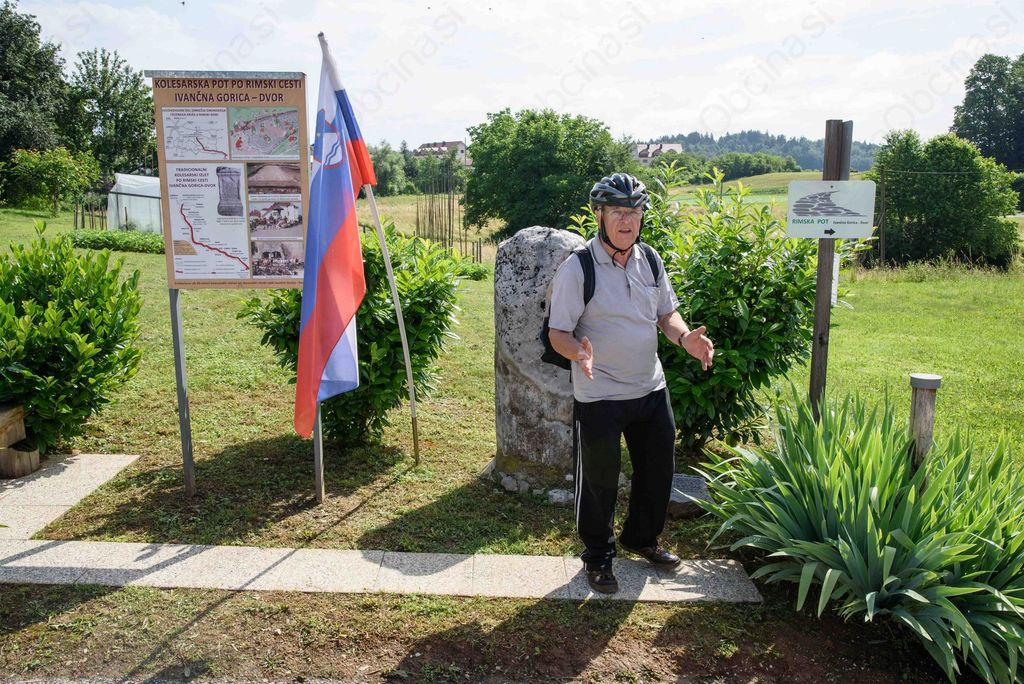 Po Rimski cesti od Ivančne Gorice do Dvora že triindvajsetič