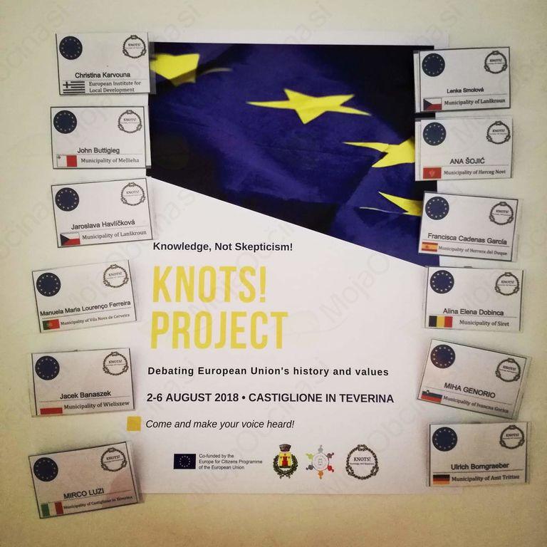 Evropski projekt KNOTS! – Knowledge, NOT Skepticism! (KONOTS! – Znanje, NE skepticizem!)
