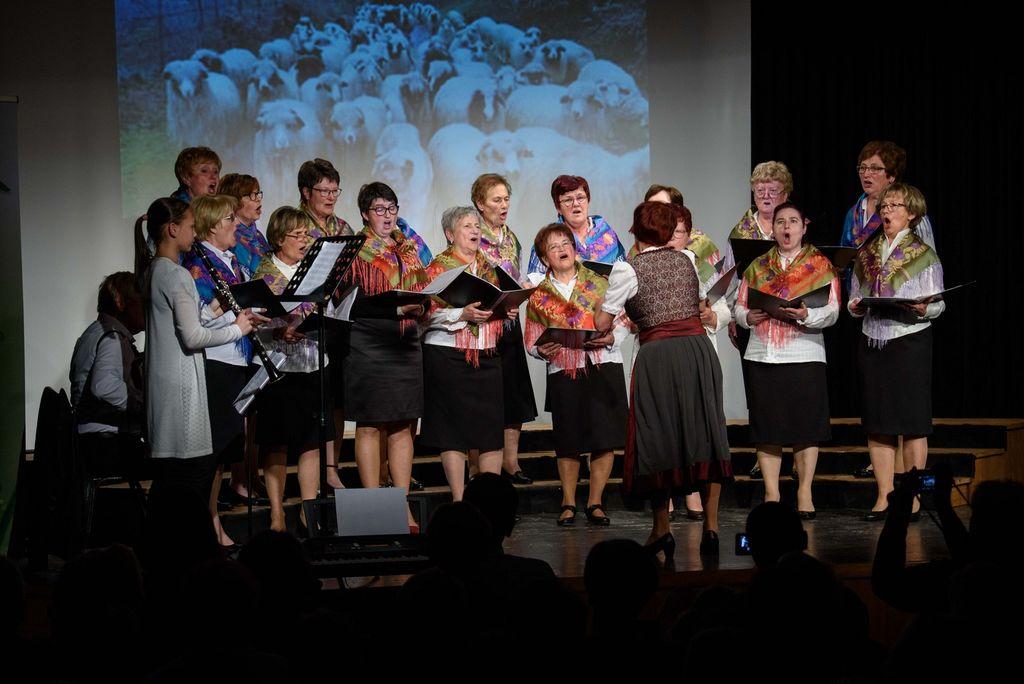 Koncert Avsenikovih pesmi v izvedbi Ženskega pevskega zbora Harmonija