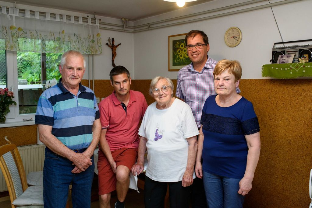 Župan voščil Mariji Kozlevčar za 90 let