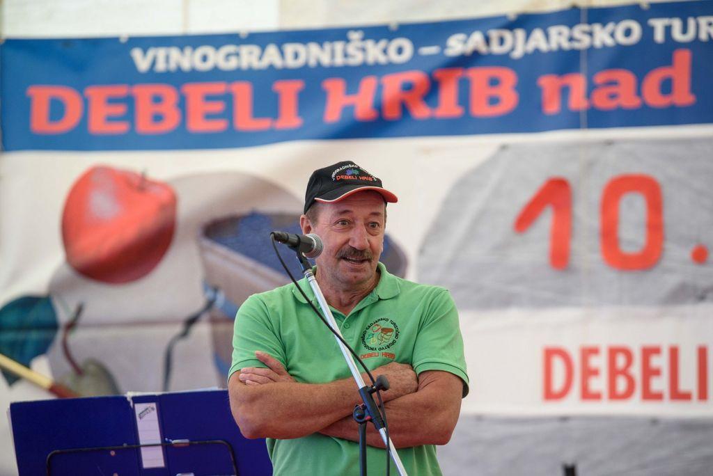 Vinogradniki iz Debelega hriba praznovali desetletnico delovanja